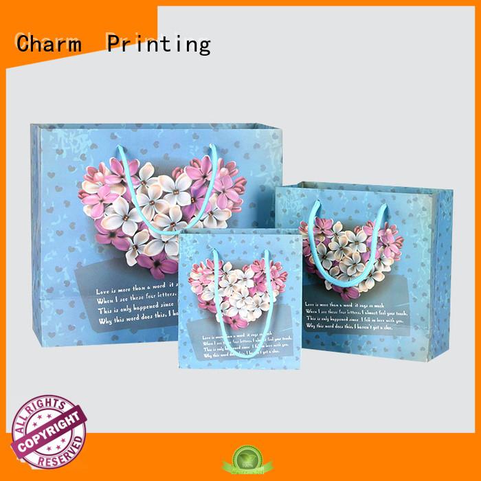 CharmPrinting OEM personalised paper bags for paper bag