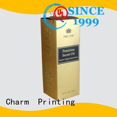 CharmPrinting wine gift box manufacturer food packaging