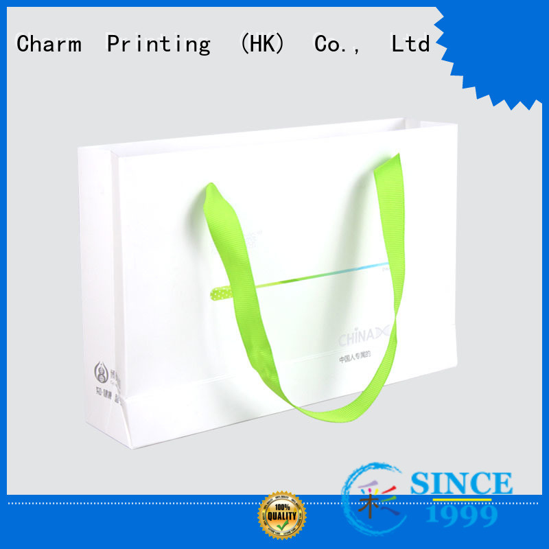 CharmPrinting paper shopping bags latest for shopping bag