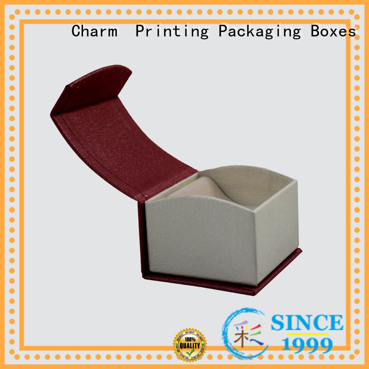 Charm Printing with tray earring jewelry gift box for luxury box