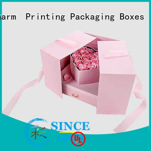 CharmPrinting book shape type gift box OEM for packaging