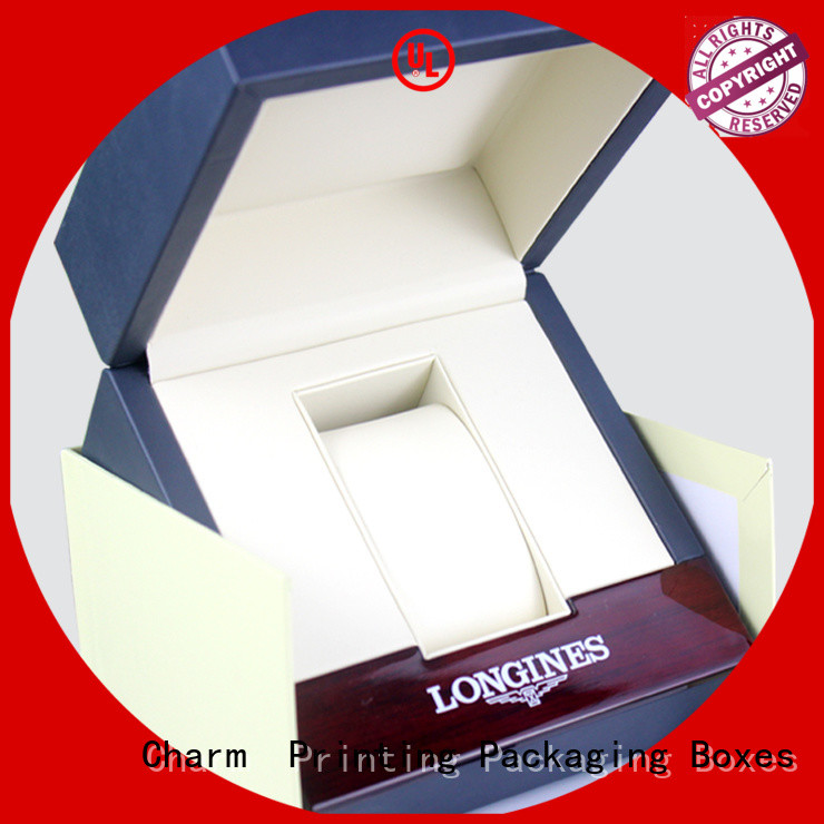 Charm Printing jewelry gift boxes factory price for jewelry packaging