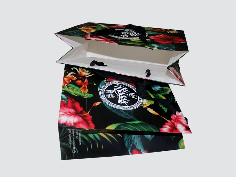 Charm Printing paper shopping bags fashion design for paper bag-1