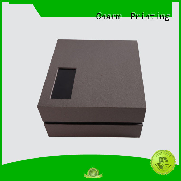 CharmPrinting apparel packaging boxes for apparel