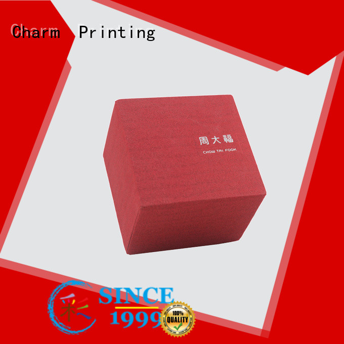 CharmPrinting jewelry box high-quality for jewelry packaging