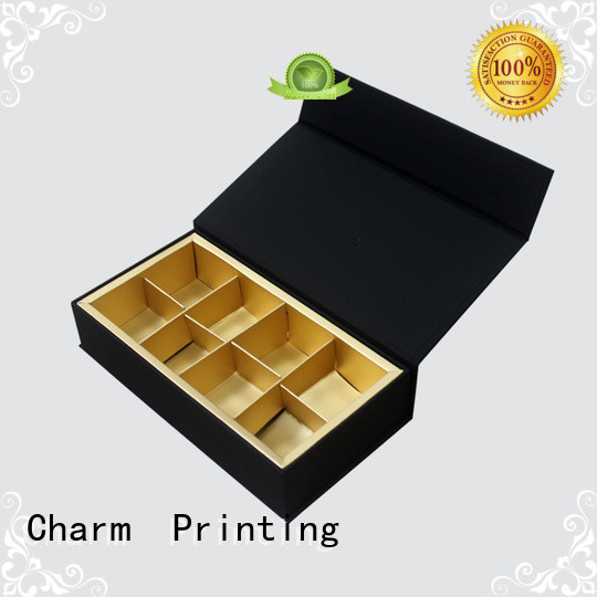 CharmPrinting chocolate box foil stamping for chocolate box
