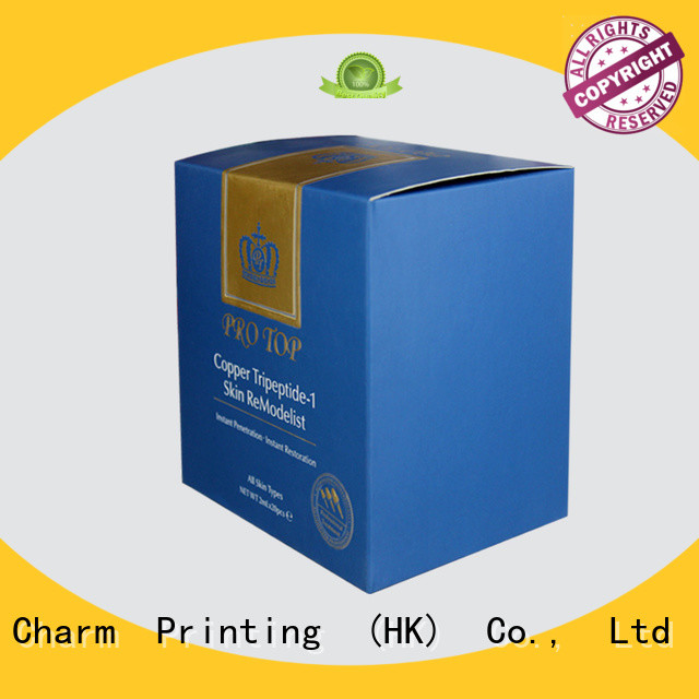 CharmPrinting coloful cosmetic box high quality gift package