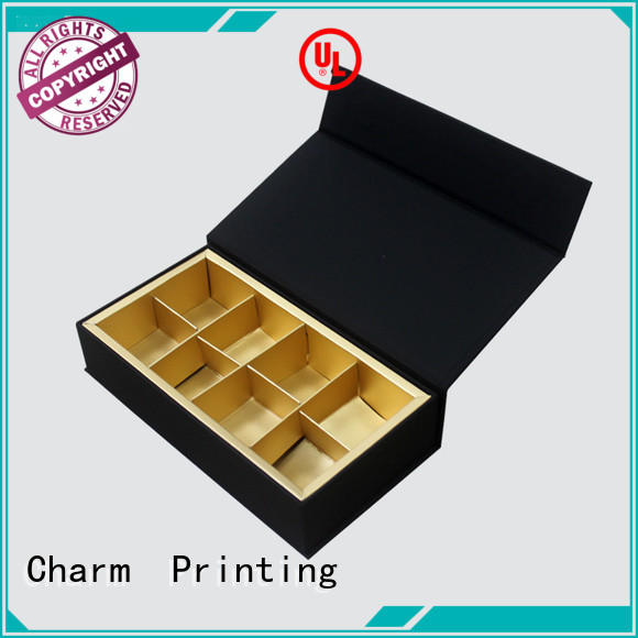 Charm Printing chocolate packaging box thick luxury box