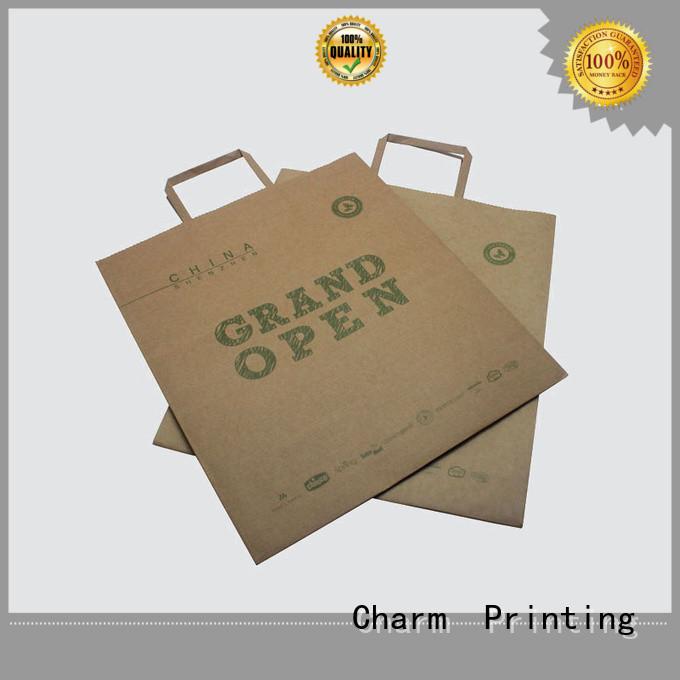 CharmPrinting OEM paper bag fashion design for paper bag