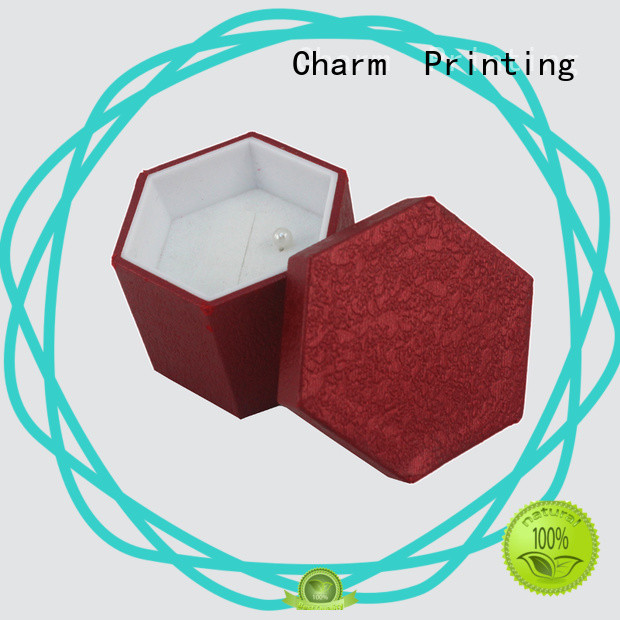 CharmPrinting book shape jewelry packaging box factory price for jewelry packaging