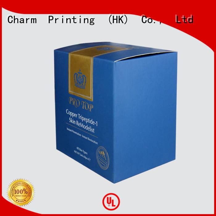paper cosmetic box uv printing Gift Package CharmPrinting