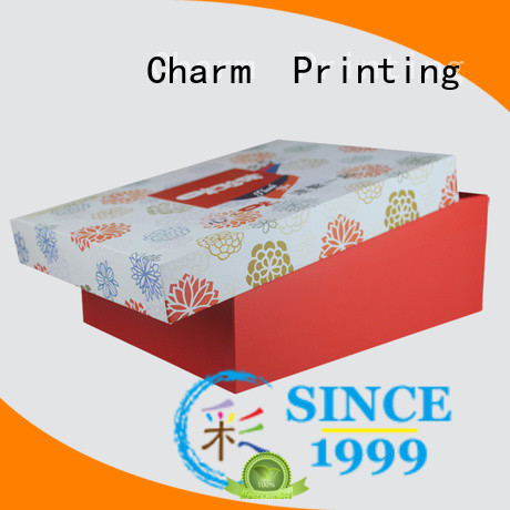 gift box for food packaging Charm Printing
