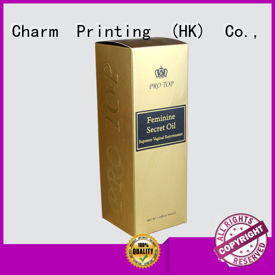 Charm Printing personalized wine gift box handmade food packaging
