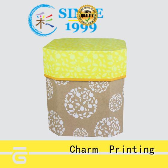 CharmPrinting with ribbon perfume packaging box printing color for modern mowen