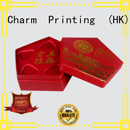 Charm Printing jewelry box luxury design for jewelry packaging