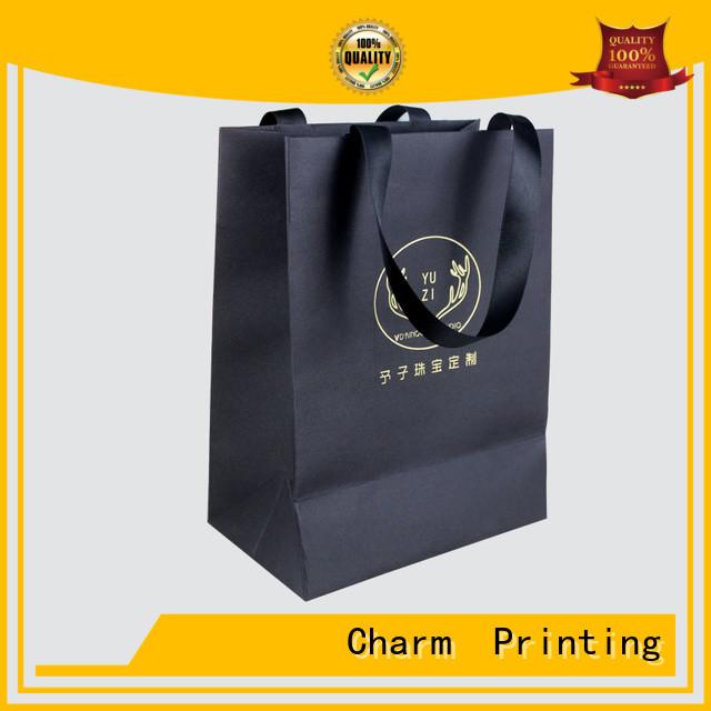 CharmPrinting paper bag fashion design for gift box