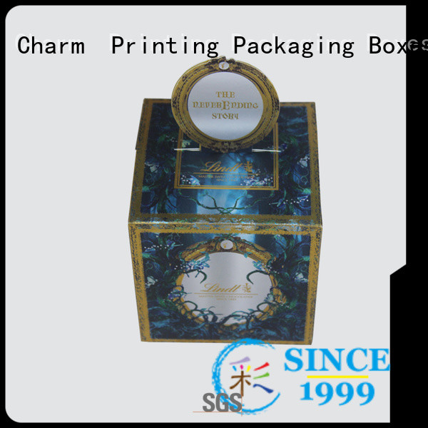 Charm Printing chocolate packaging automatic slide for chocolate box