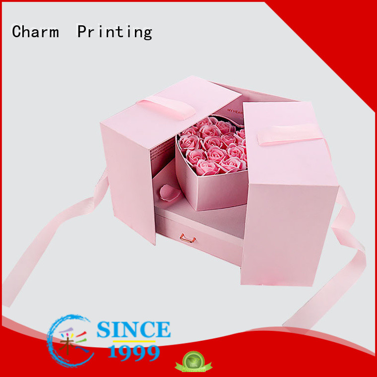Charm Printing gift box manufacturer for gifts