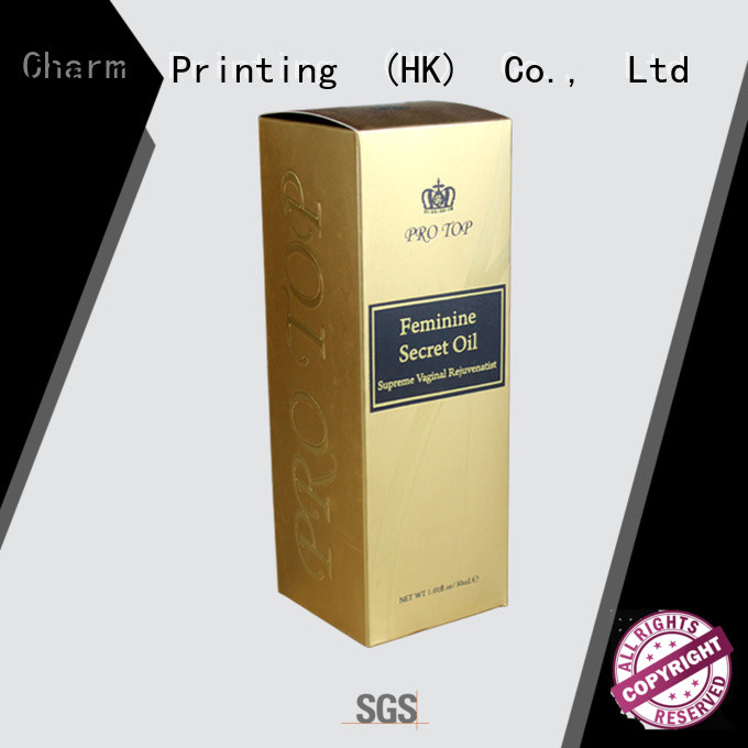 CharmPrinting personalized wine packaging box luxury design food packaging