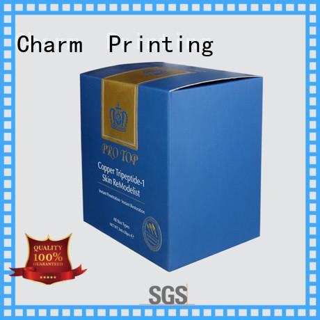 handmade cosmetic packaging box offset printing storage