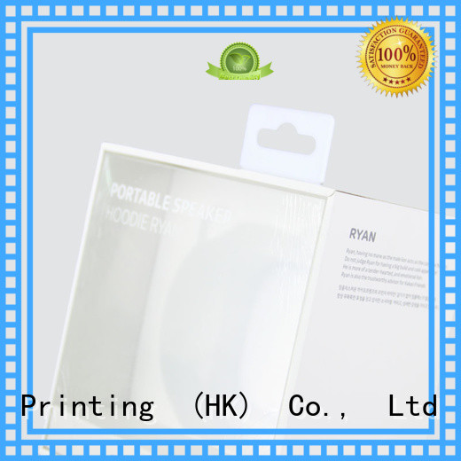 CharmPrinting special-shape camera packaging for box packaging