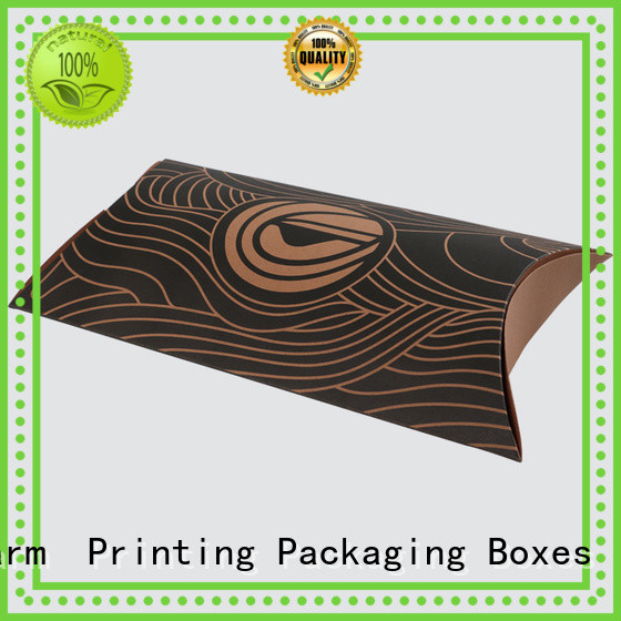 special shape pillow box factory price for food packaging