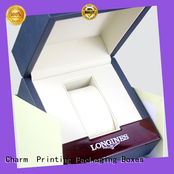 CharmPrinting jewelry packaging factory price for luxury box