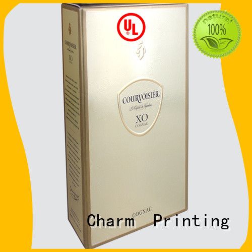 Special personalized colorful card wine Box