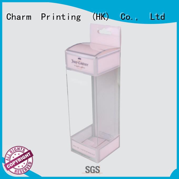 CharmPrinting coloful cosmetic box high quality storage