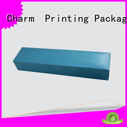 CharmPrinting custom jewelry packaging box luxury design for luxury box