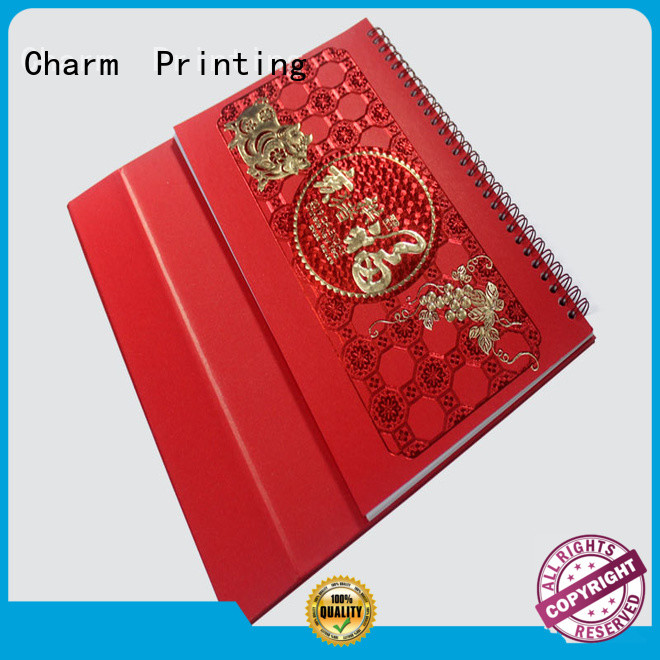 CharmPrinting book shape type packaging boxes manufacturer for gifts