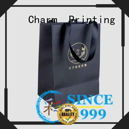 CharmPrinting OEM paper shopping bags latest for gift box