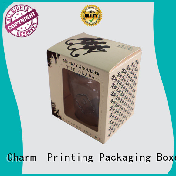 silk printing candle packaging box oem for packaging