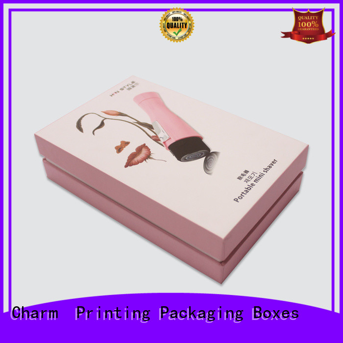 Charm Printing luxury type paper gift box dental products