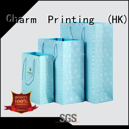 Charm Printing high-quality paper shopping bags on-sale for shopping bag