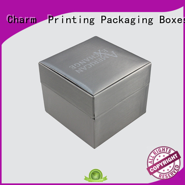 Charm Printing book shape jewelry gift boxes with cotton luxury design for luxury box