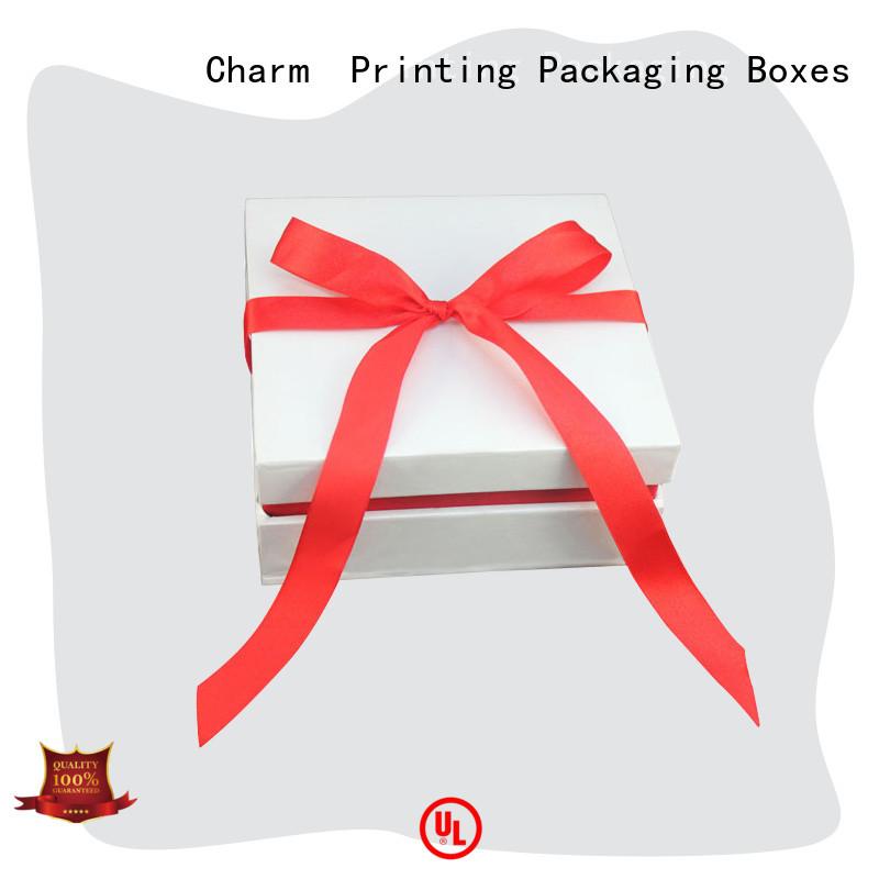 CharmPrinting with ribbon fragrance box free sample for fashion women