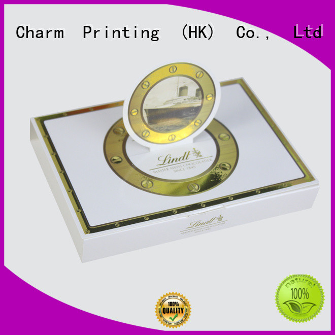 chocolate box foil stamping gift box CharmPrinting