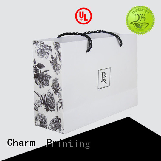 high-quality paper bags for shopping latest for gift box Charm Printing
