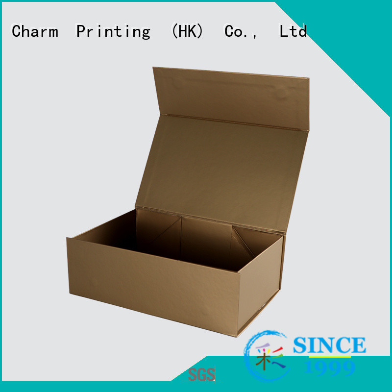 CharmPrinting handmade cosmetic packaging box offset printing shop promotion