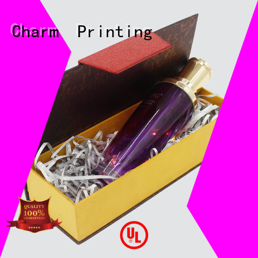 coloful cosmetic packaging box high quality gift package