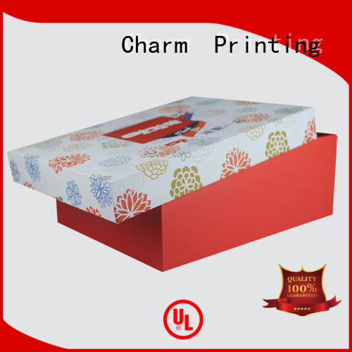 Charm Printing special shape pillow box handmade for food packaging