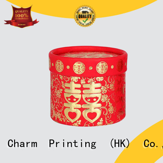 Charm Printing art paper gift packaging for wholesale for wedding packaging