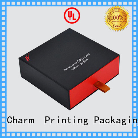 CharmPrinting perfume box colorful for fashion women