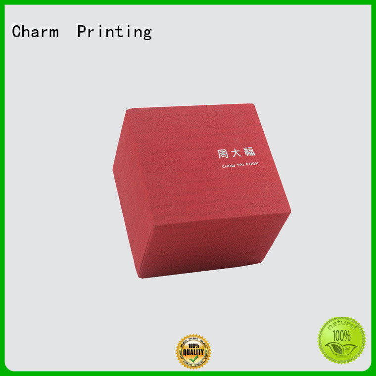 CharmPrinting with tray jewelry packaging box high-quality for jewelry packaging