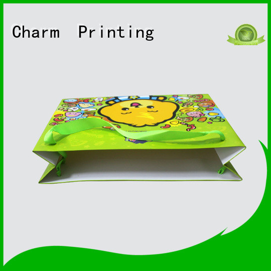 Charm Printing paper gift bags on-sale for gift box