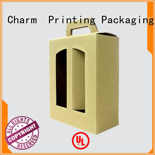 Charm Printing wine gift box manufacturer alcohol packaging