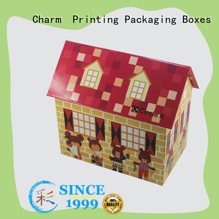 Charm Printing custom toy gift box toys packaging
