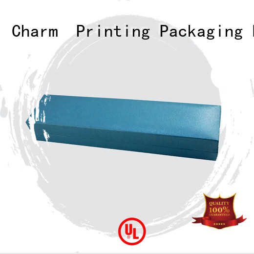 CharmPrinting book shape jewelry packaging box factory price for gift box