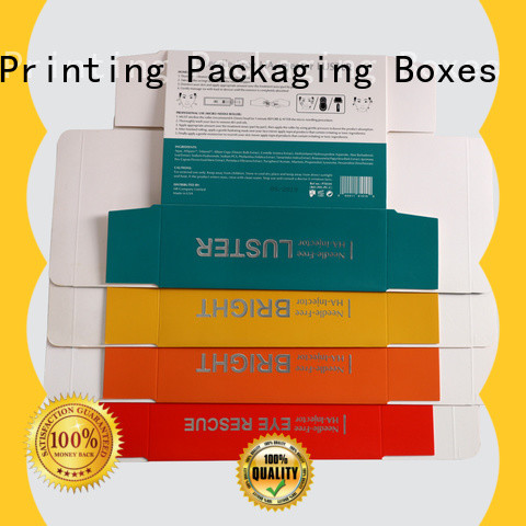 handmade cosmetic packaging box offset printing shop promotion